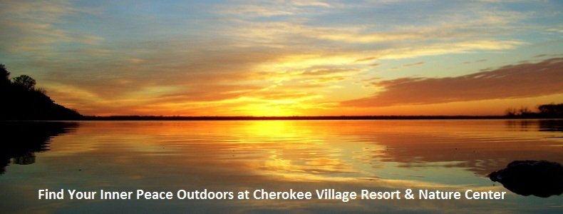 Sunset at Cherokee Village Resort